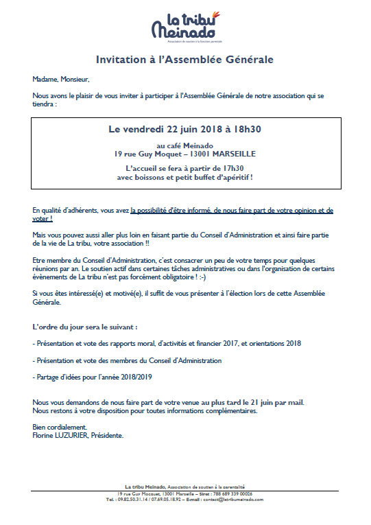 Invitation adherents AG_2018-06-22